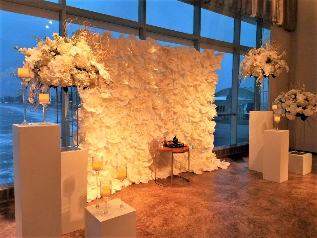 Flower Wall 1 - Ceremonies