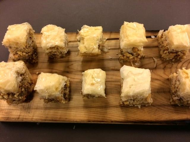 Baklavah - Butlered Desserts