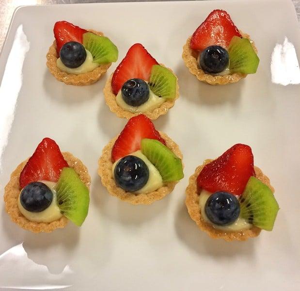 Fruit Tarts 1 - Butlered Desserts