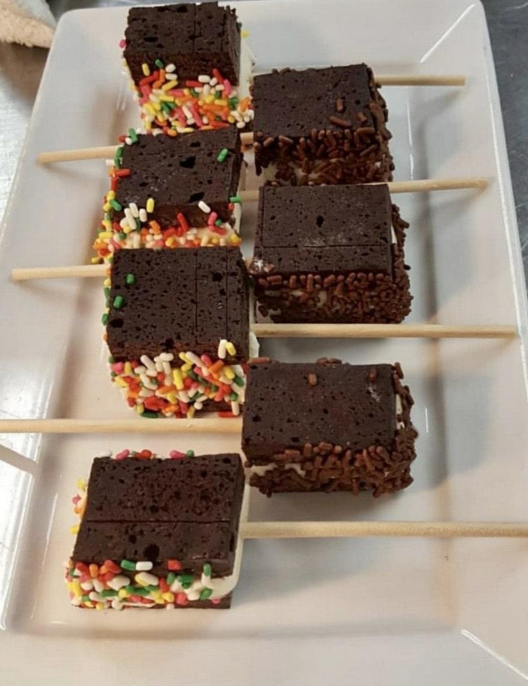 Ice Cream Sandwich Pops - Butlered Desserts