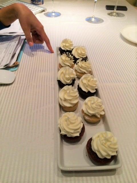 OA Cake Samples - Butlered Desserts