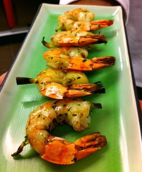 Shimp Sate - Butlered Hors d'oeuvres