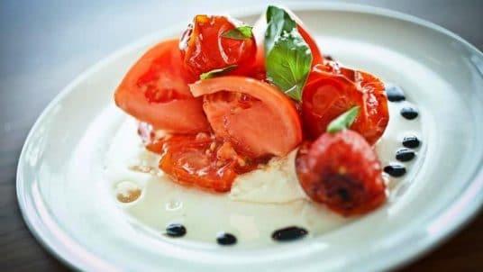 6 Tomato Caprese Salad 536x302 - Sample Menus